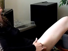 Teen Masturbating with musik