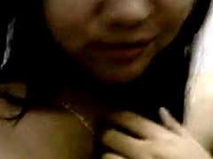 Cute Pinay Teen Selfie At The Shower