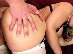 Blonde Milfs Anal Christie Stevens, Sarah Vandella, Natasha Starr, Mar