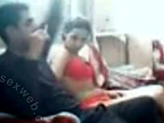 Young Arab Lovers On Couch-ASW1137