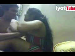 Asian girl secretly fucked by cousin