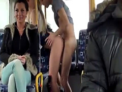Russian Lolita Lindsey Olsen Gets Anal Fucked in the Public Bus