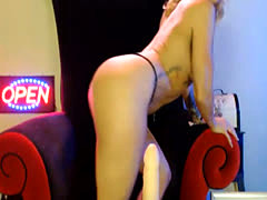 Hot Babe Chelsea Imagined her Toy is Real