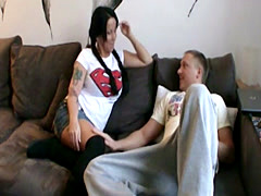 German Step-Mom want to fuck young boy after work