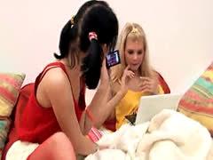 Slutty bisex teen girls fucking hunk