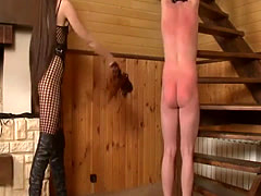 Naughty Gal Gets Ass-Spanking