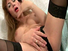 Horny tranny showing off