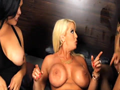 Booby Alura Jenson orgy with trannies