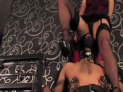 British lingerie femdom loves to cause pain