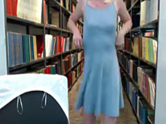 Nude In Public School Library Blonde Amateur Teen Webcam Flashing