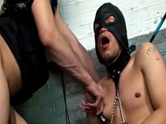 Tranny mistress and her slave