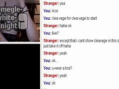 young omegle girl masturbates