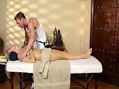 Secret movie of one very lucky masseur