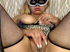 Masked Fat Latin Cam Girl