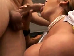 Claire Dames gets banged by employee