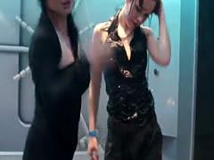 Lesbian Besties Get Wet & Horny