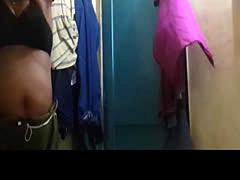 Black Bra n Pink panty bhabi