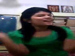 Horny Desi Indian Student Cute Sunny Nude Fingering