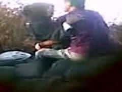Indonesian couple fucked outdoor
