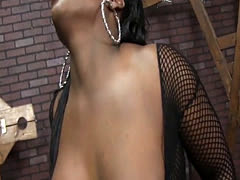 Ebony Janea Jolie getting eaten out