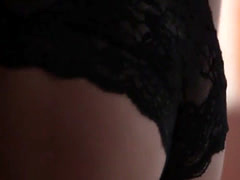 Amazing babe strip and teasing