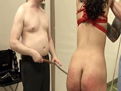 fashionable BDSM toilet slut fucked anally hard