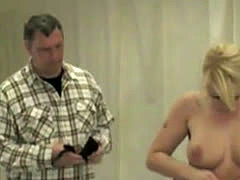 Blonde Cries Out As She Is Flogged