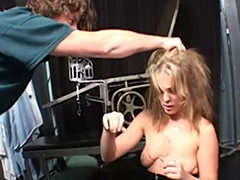 Rough Fuck Session For Blonde Slut