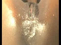 Ebony Cam Slut Masturbates