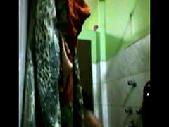 Suman aunty bathing naked Hidden cam..