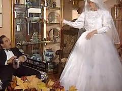 Bride vintage in France