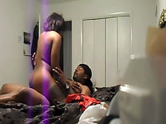 Cams in the room can catch sexy action