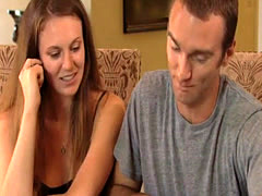 Swingers play naughty twister game in Playboy reality Show
