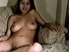 Big natural tits Pinay girl first time on camera