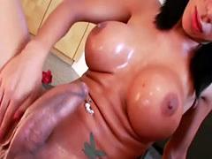 Hung Tranny Sabrina Suzuki Masturbates