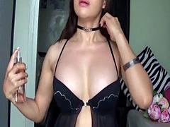TS Filipina Asian Shemale Buxom Hot Brunette