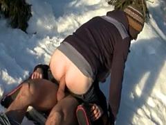 Body builder old man homo gay sex Snow Bunnies Anal Sex