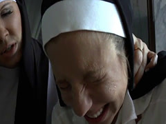 Bdsm lesbo nuns booty