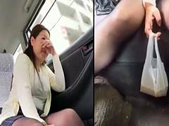 Carsick Girls Puking Vomiting Vomit and Puke