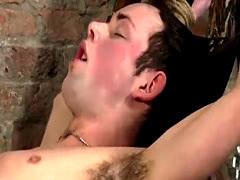 Gay doctor bondage electro and emo bondage story Hanging there roped t