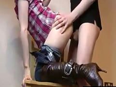 cowgirl fucked in secret
