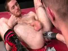 Guy gay man get fist in ass xxx Seamus O'Reilly waits - caboose up