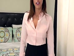 Alluring young realtor Kelsi Monroe seduces client and passionately fu
