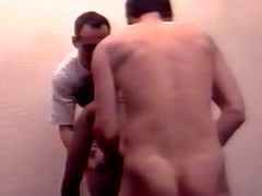 German husband shared his petite amateur black wife with friend
