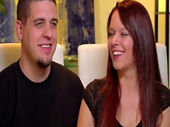 Young couple entering the world of swingers on reality TV