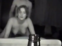 Hot chick rides, fucks and gets creamed on hidden cam
