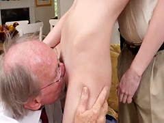 Old mom ass and old man fucks ...