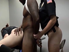 Public police Milf Cops