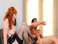 Fucking Tight Redhead Asshole Lauren Phillips
