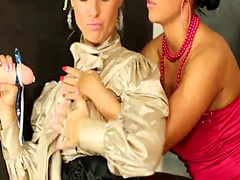 Bukake birthday lesbo scissoring at gloryhole